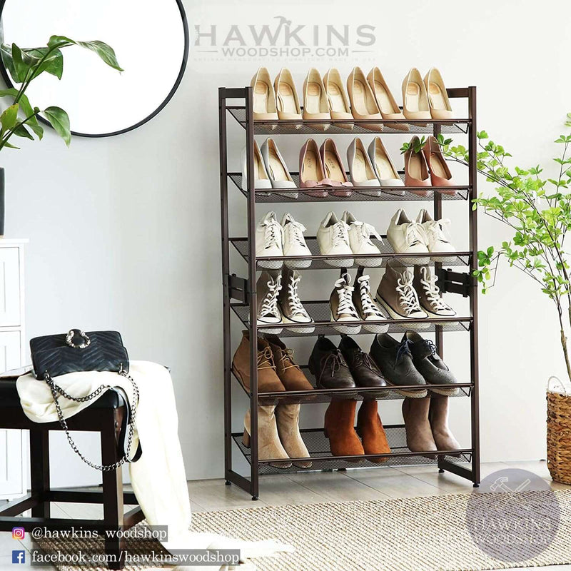 Enjoy fast, free nationwide shipping!  Family owned and operated, HawkinsWoodshop.com is your one stop shop for affordable furniture.  Shop HawkinsWoodshop.com for solid wood & metal modern, traditional, contemporary, industrial, custom, rustic, and farmhouse furniture including our 3-Tier Stackable Metal Shoe Organizer.