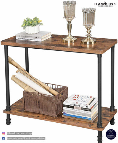 Enjoy fast, free nationwide shipping!  Family owned and operated, HawkinsWoodshop.com is your one stop shop for affordable furniture.  Shop HawkinsWoodshop.com for solid wood & metal modern, traditional, contemporary, industrial, custom, rustic, and farmhouse furniture including our Industrial Metal Pipe Console Table Free Shipping.