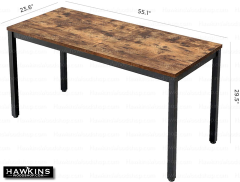 Shop hawkinswoodshop.com for discounted solid wood & metal modern, traditional, contemporary, custom & farmhouse furniture including our Ryan Industrial Farmhouse Writing Desk. Ask about our free nationwide freight delivery and low cost assembly services.