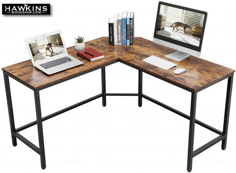 Shop hawkinswoodshop.com for discounted solid wood & metal modern, traditional, contemporary, custom & farmhouse furniture including our Ryan II L-Shaped Desk w/Metal Base & Wood Top. Ask about our free nationwide freight delivery and low cost assembly services.