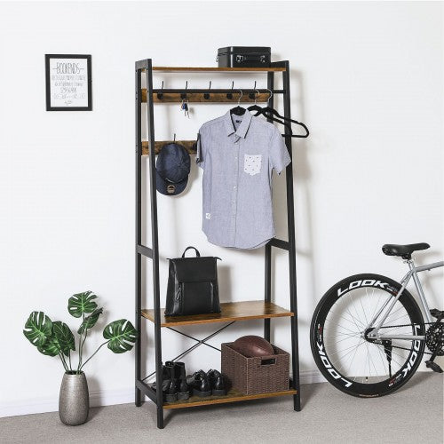 Enjoy fast, free nationwide shipping!  Owned by a husband and wife team of high-school music teachers, HawkinsWoodshop.com is your one stop shop for affordable furniture.  Shop HawkinsWoodshop.com for solid wood & metal modern, traditional, contemporary, industrial, custom, rustic, and farmhouse furniture including our Victor Coat Rack Hall Tree III.
