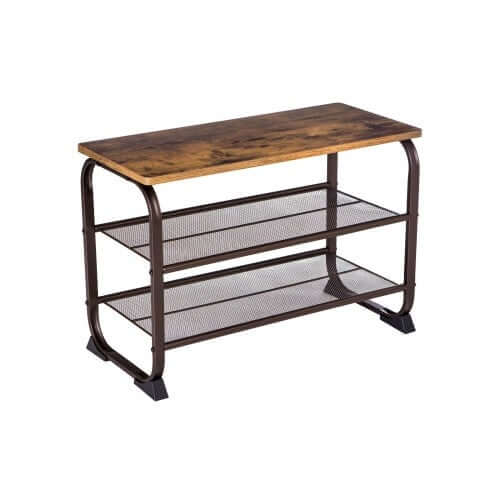 Enjoy fast, free nationwide shipping!  Owned by a husband and wife team of high-school music teachers, HawkinsWoodshop.com is your one stop shop for affordable furniture.  Shop HawkinsWoodshop.com for solid wood & metal modern, traditional, contemporary, industrial, custom, rustic, and farmhouse furniture including our Ryan Industrial Farmhouse Shoe Bench.