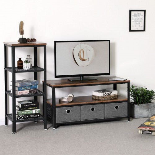 Shop hawkinswoodshop.com for discounted solid wood & metal modern, traditional, contemporary, custom & farmhouse furniture including our Industrial Vintage TV Stand w/ 3 Fabric Drawers.  Ask about our free delivery & assembly collections today!