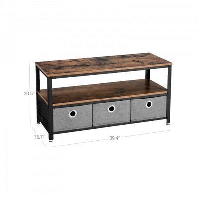 Shop hawkinswoodshop.com for solid wood & metal modern, traditional, contemporary, industrial, custom, rustic, and farmhouse furniture including our Industrial Vintage TV Stand w/ 3 Fabric Drawers.  Ask about our free nationwide delivery service.