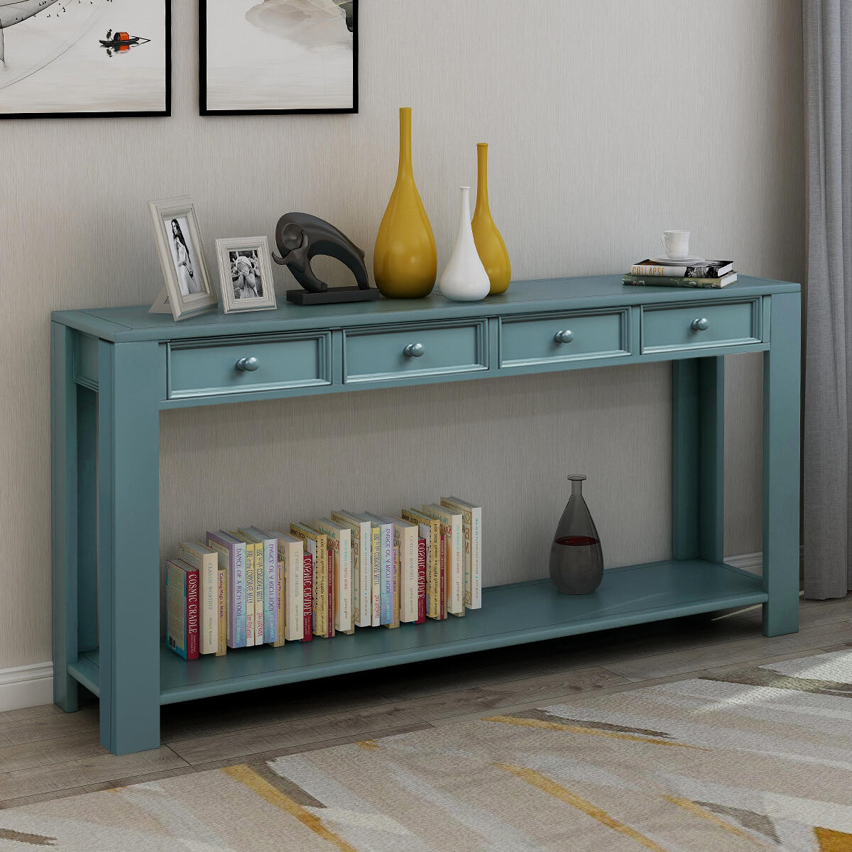 Shop hawkinswoodshop.com for discounted solid wood & metal modern, traditional, contemporary, custom & farmhouse furniture including our Long Modern Farmhouse Painted Console Table. Ask about our free nationwide freight delivery or assembly services today.