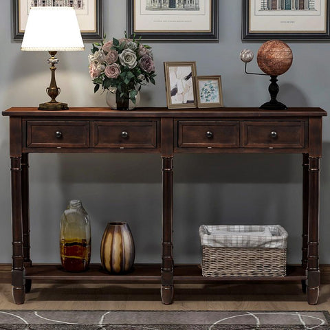 Shop hawkinswoodshop.com for discounted solid wood & metal modern, traditional, contemporary, custom & farmhouse furniture including our Peter Solid-Wood Espresso Console Table. Ask about our free nationwide freight delivery and low cost assembly services.