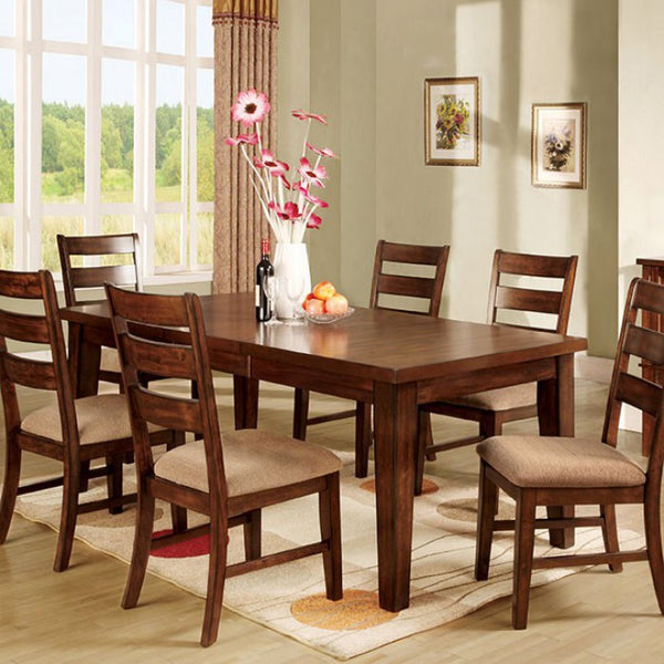 "Milla Hardwood Dining Room Table w/ 18"" Leaf Extension"