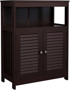 Shop hawkinswoodshop.com for discounted solid wood & metal modern, traditional, contemporary, custom & farmhouse furniture including our Brown Storage Floor Cabinet Free Standing with Double Shutter Door and Adjustable Shelf. Ask about our free nationwide freight delivery or assembly services today.
