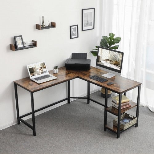 Shop hawkinswoodshop.com for discounted solid wood & metal modern, traditional, contemporary, custom & farmhouse furniture including our Ryan L-Shaped Desk w/Metal Base & Wood Top w/ Shelves. Ask about our free nationwide freight delivery or assembly services today.