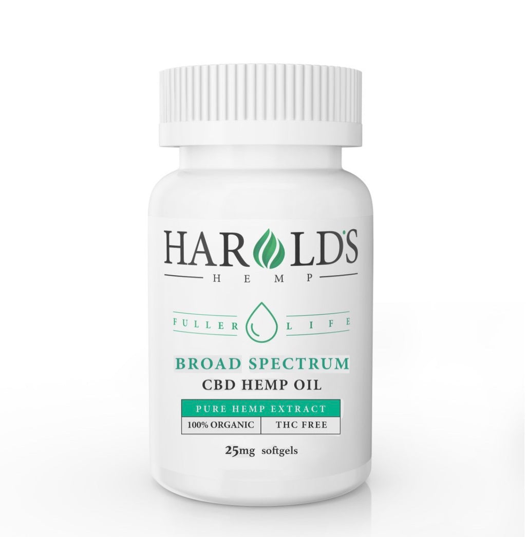 Broad Spectrum CBD Softgels