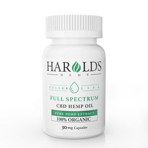 Full Spectrum CBD Hemp Capsules