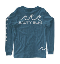 Load image into Gallery viewer, The Costas Long Sleeve Tee Heather Teal