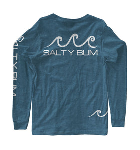 The Costas Long Sleeve Tee Heather Teal