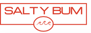 Salty Bum Chill Decal Orange-Red