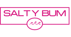Salty Bum Chill Decal Pink