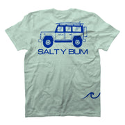 The Salty Bum Wonderer Tee Teal