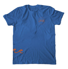 Load image into Gallery viewer, The Salty Bum Wonderer Tee Royal Blue