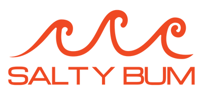 Salty Bum Decal Orange-Red