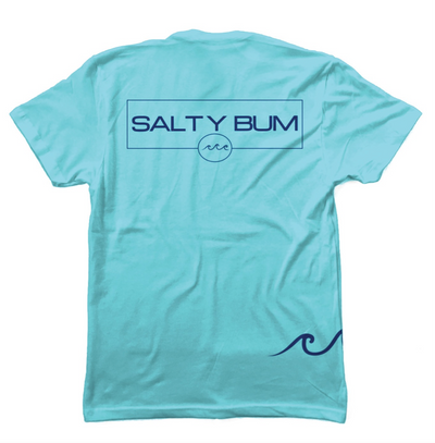 Chill Tee Tahiti Blue