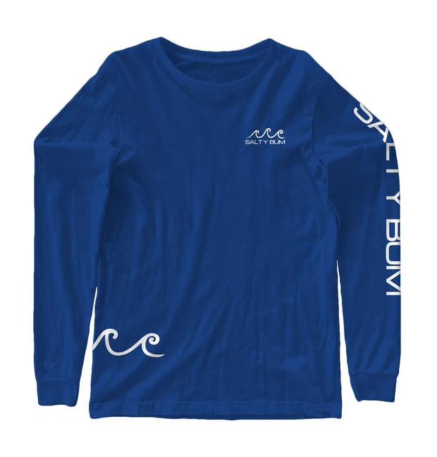 The Costas Long Sleeve Tee Royal Blue