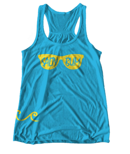 The Sunny Days Tank (Turqoise)