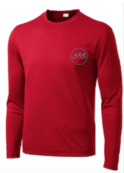 Fishin' Performance Tee Red