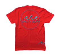 Salty Tee Red