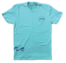 Load image into Gallery viewer, Chill Tee Tahiti Blue
