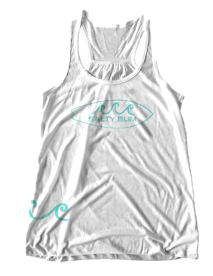 The Surf's Up Tank (White)