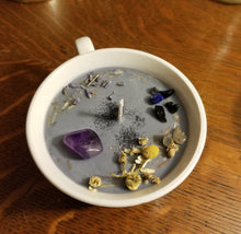 Load image into Gallery viewer, Magickal Divination Teacup Candle