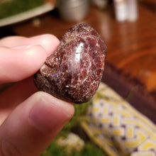 Load image into Gallery viewer, Garnet Tumbled Stone