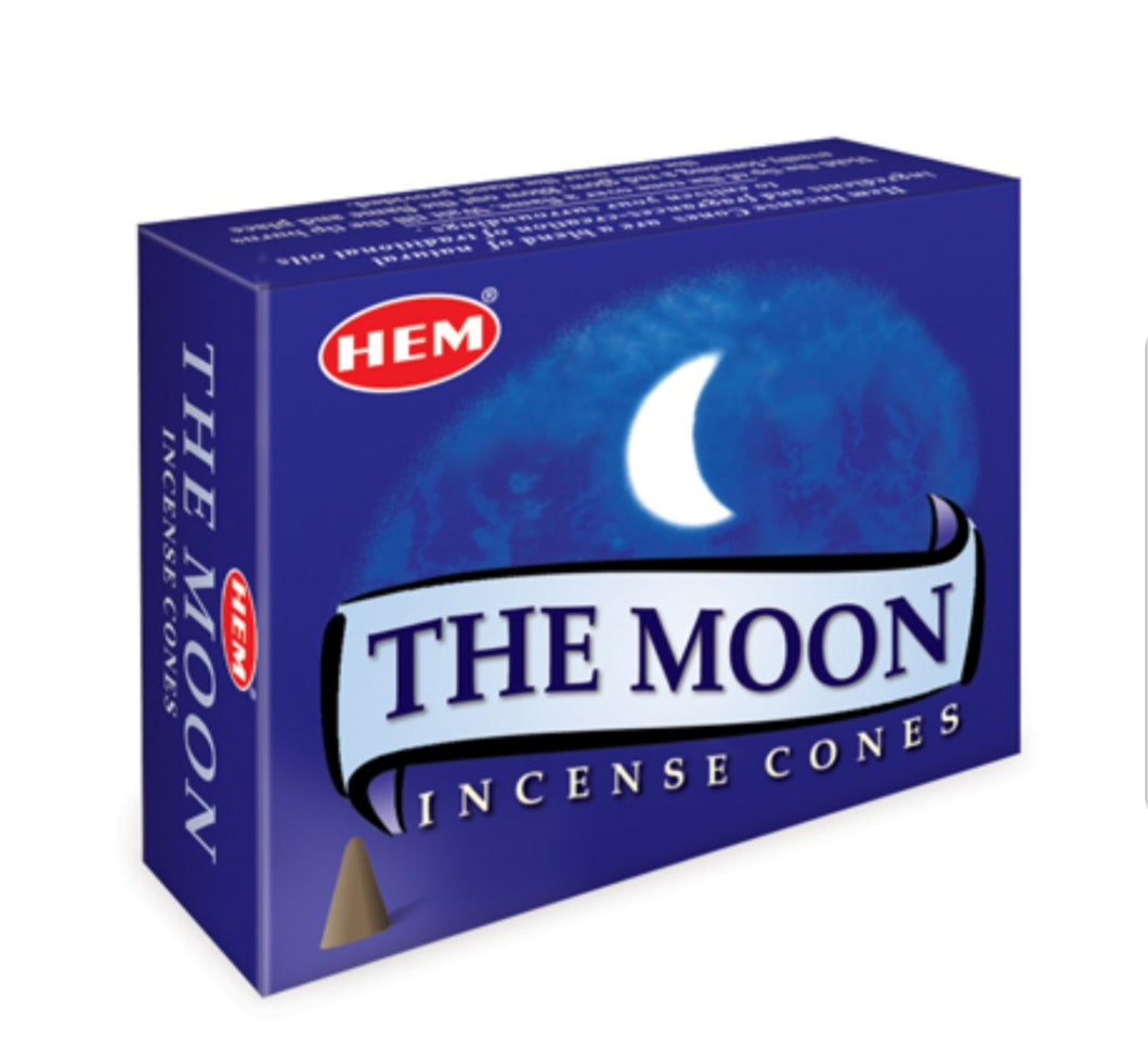 The Moon Cone Incense