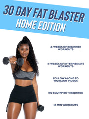 30 Day Fat Blaster: Home Workout Program