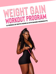 Weight Gain Workout Program