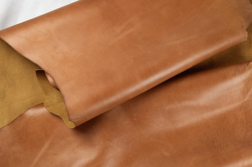 WALNUT TAN  LEATHER COW HIDE 1.6mm