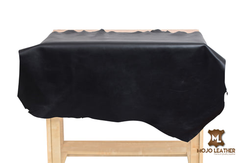 LEATHER HIDE BLACK NAPPA 0.8MM