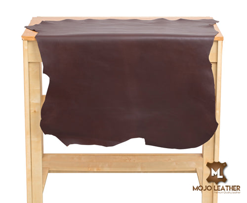 BRIDDLE BROWN LEATHER HIDE NAPPA SKIN 0.7mm