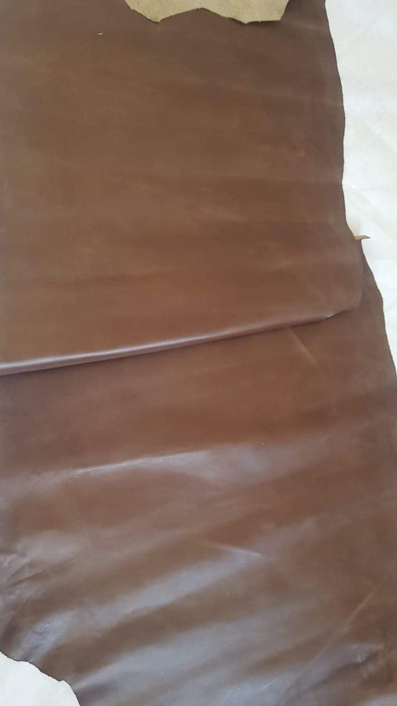 CLASSIC BROWN LEATHER COW HIDE 1.6mm