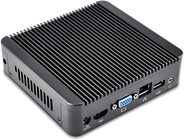 Qotom Q190N S01 Barebone PC - J1900 Quad-Core CPU, 1 Intel Gigabit Ethernet, 10W Max Power (Barebone)