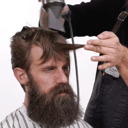 4 Blow Drying Tips To Teach Male Clients