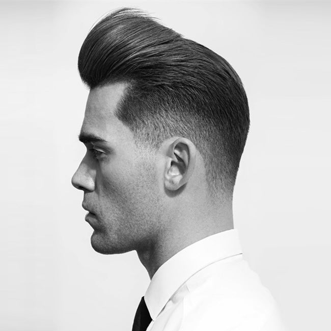 Matty Conrad Men's Pompadour Hairstyle