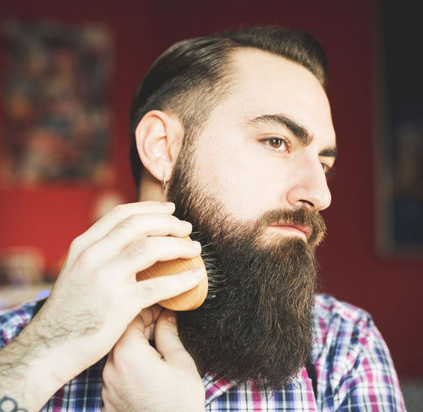 groom your beard for growth