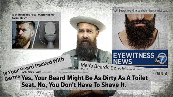is your beard full of germs?