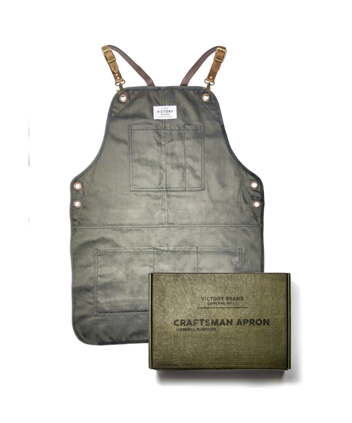 LIMITED EDITION GREEN CRAFTSMAN APRON