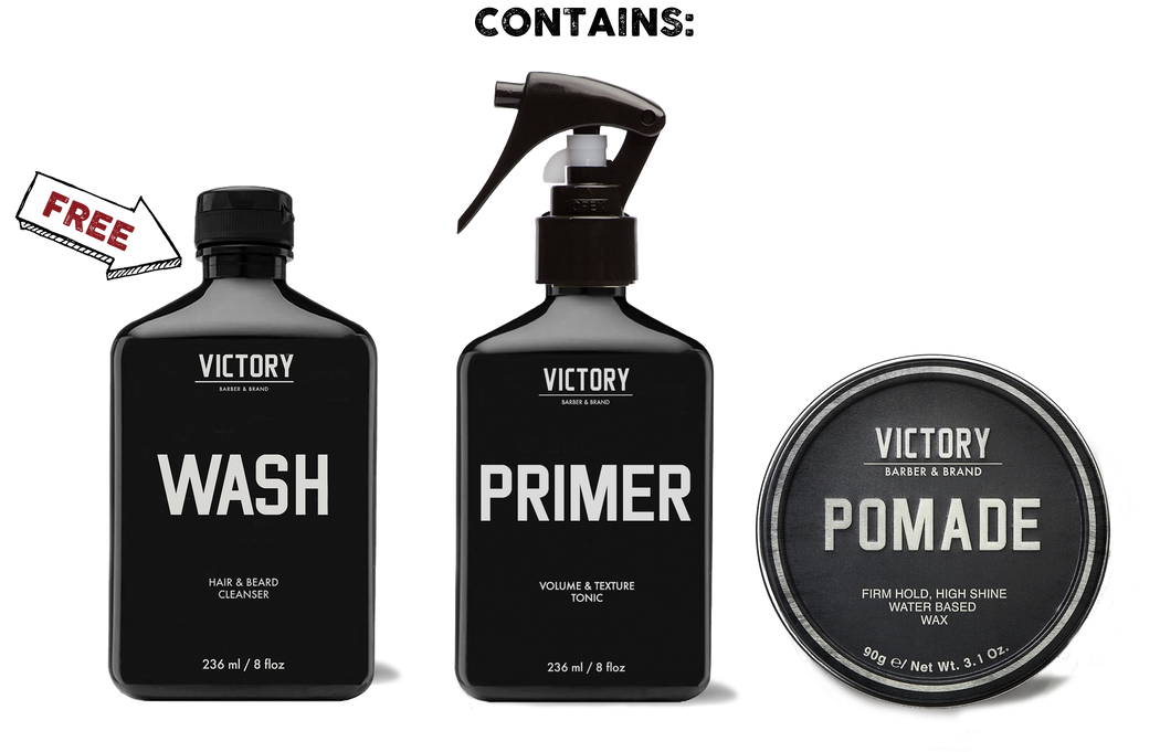 Classic Gentleman's Grooming Kit (FREE WASH)