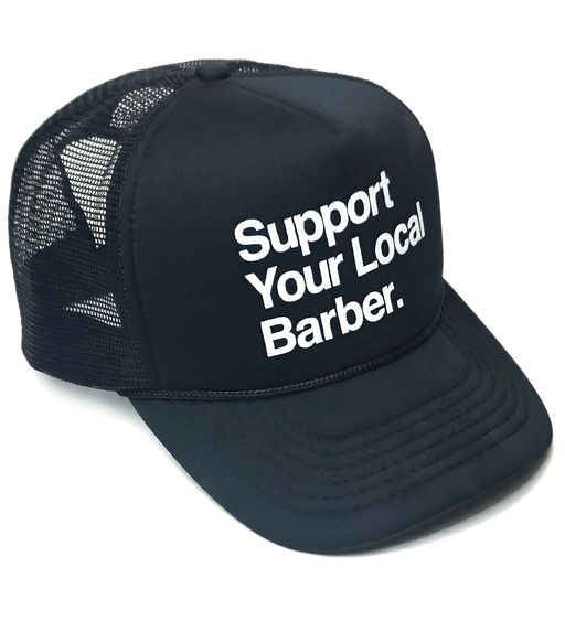 Support Your Local Barber Hat