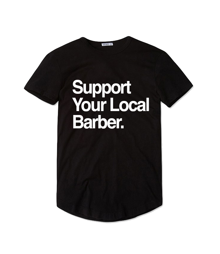 Support Your Local Barber T-shirt