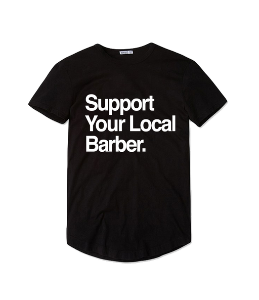 Suppport Your Local Barber T-shirt