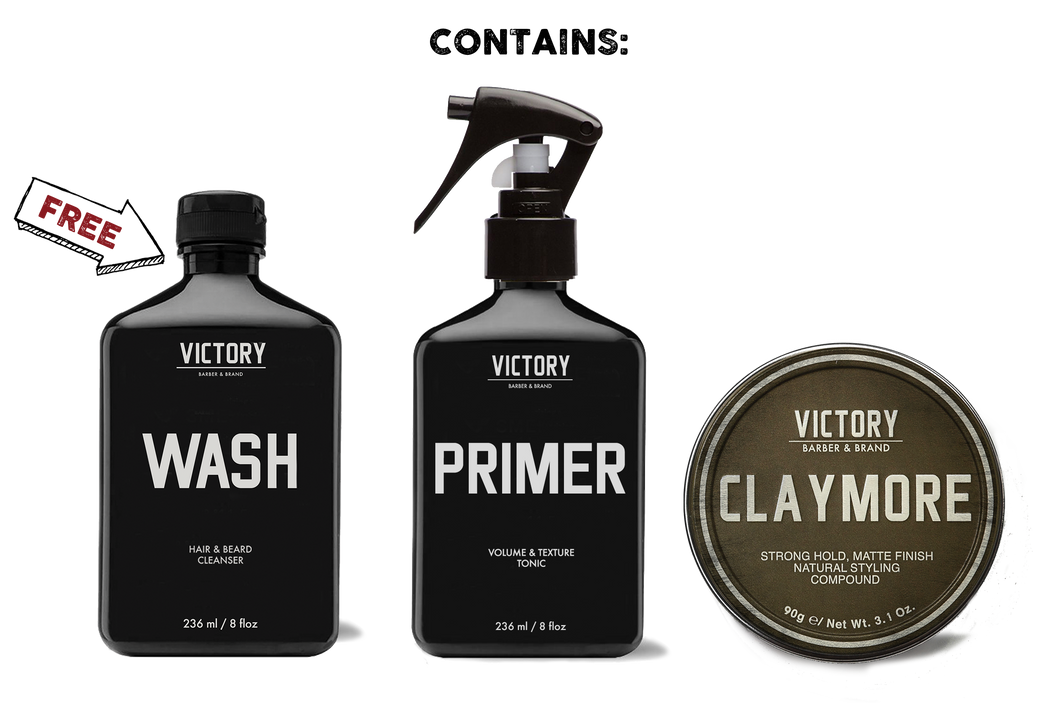 Handsome Rogue Grooming Kit (FREE WASH)