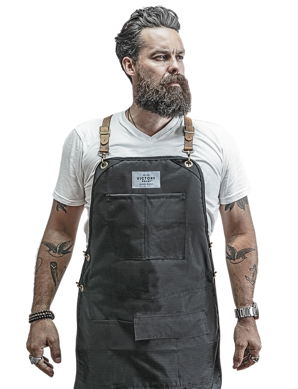 Tactical Apron for barbers and hairstylists by Victory Barber & Brand